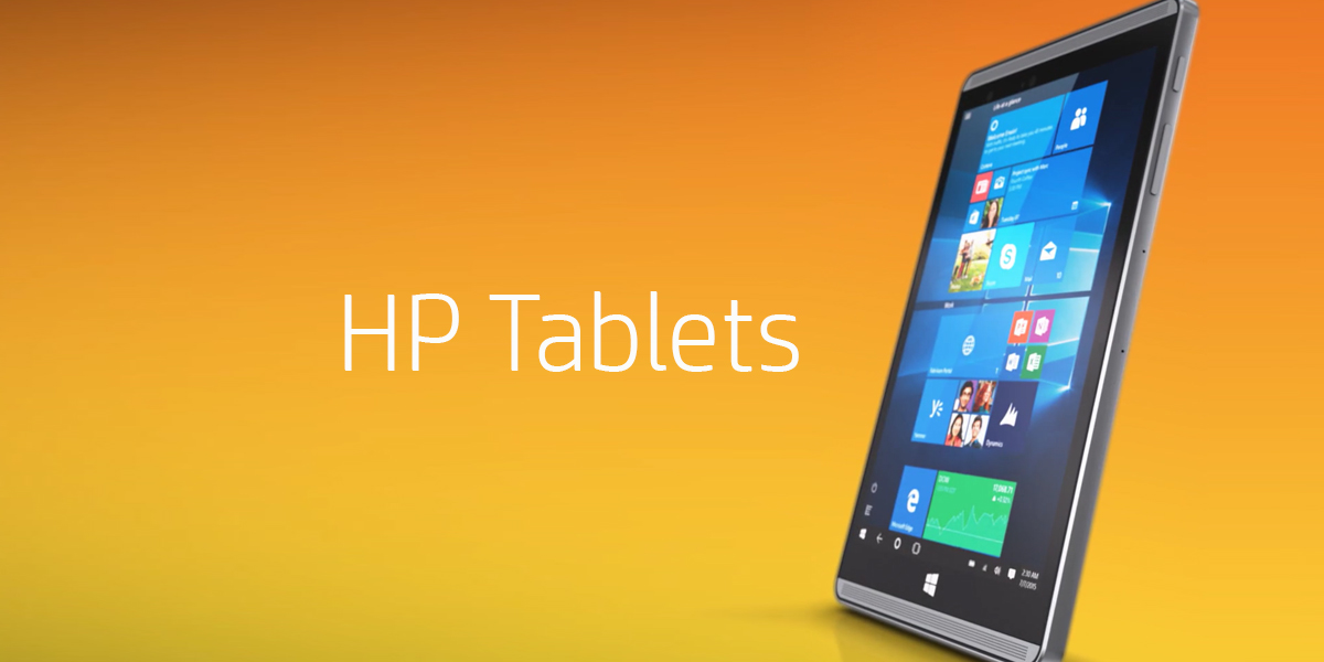 HP Tablets For Optimum Productivity On-the-go!