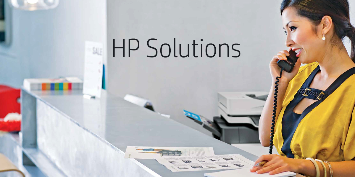 When You Have HP Solutions, Security is Never an Issue!